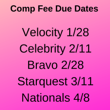 comp fee due dates