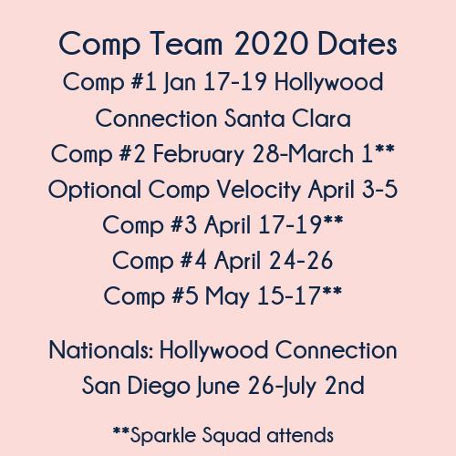 Comp Team Calendar